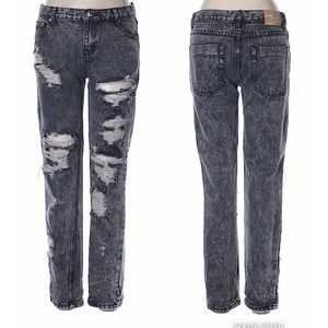 One Teaspoon Awesome Baggies Relaxed Fit Jeans